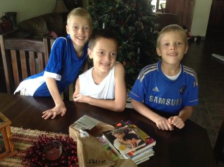 3 Brothers in Honduras